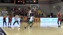 Basketbol: Gloria Kupası - Zalgiris Kaunas: 71 - Galatasaray Doğa Sigorta: 70