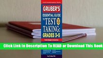 Full E-book Gruber's Essential Guide to Test Taking: Grades 3-5  For Kindle