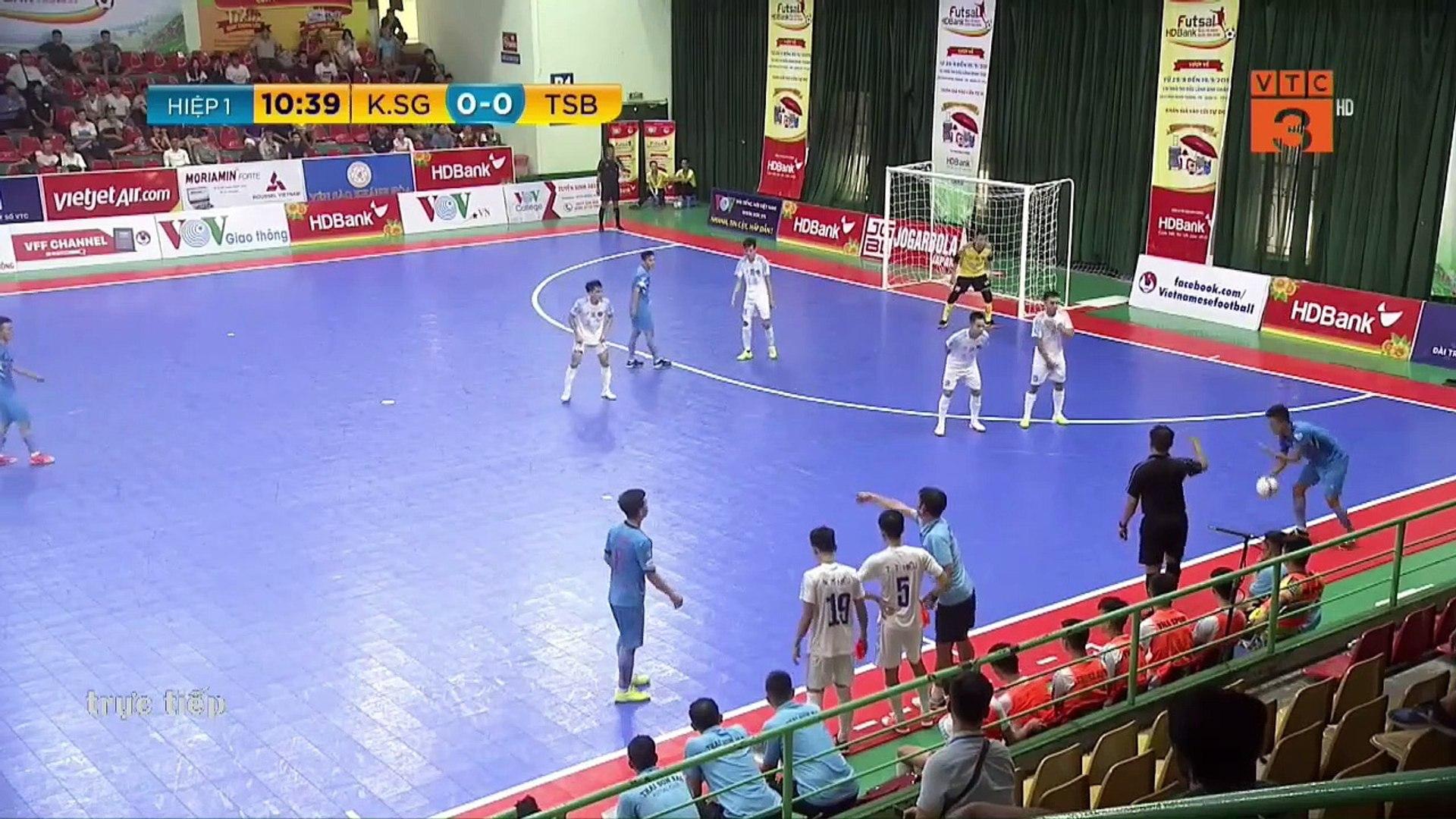 Trực tiếp | Kardiachain SG - Thái Sơn Bắc | Futsal HDBank 2019 | VFF Channel