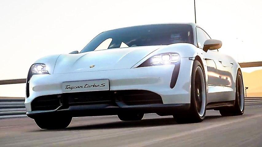 GRAN TURISMO SPORT Porsche Taycan Turbo S Bande Annonce (2019)