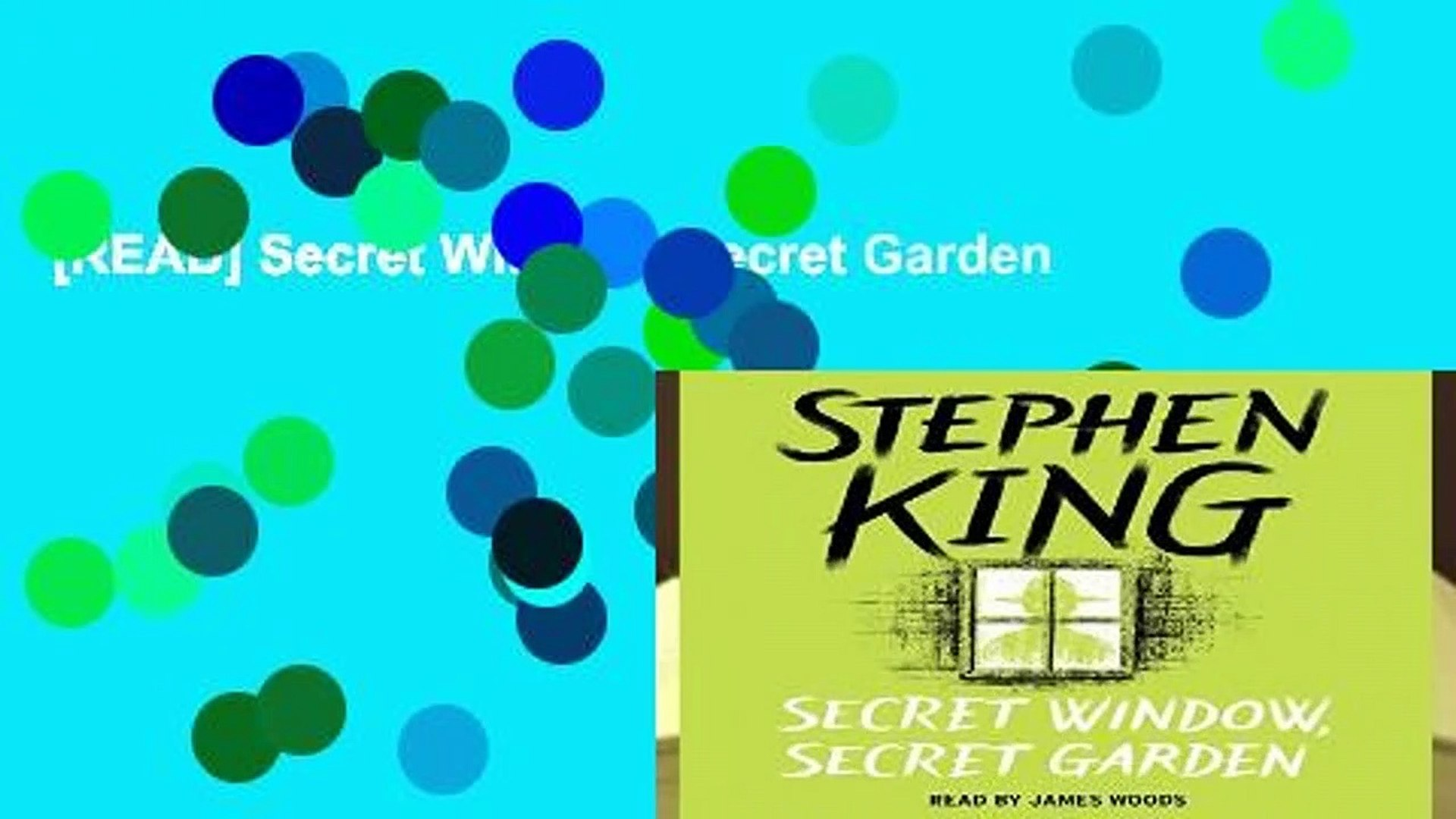 Read Secret Window Secret Garden Video Dailymotion