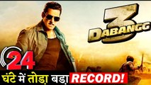 Salman Khan's DABANGG 3 Motion Poster Makes Record In 24 Hours!