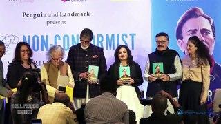 Amitabh Bachchan Launches Parikshat Sahni's Book 'Non Conformist Memories of My Father Balraj Sahni'
