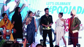 Ayushmann Khurrana, Nushrat Bharucha & Annu Kapoor At Music Launch Of 'Dream Girl'