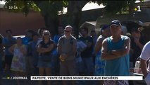 Vente aux enchères à la mairie de Papeete