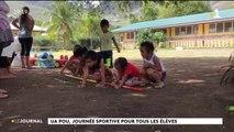 Rencontres sportives entre élèves du primaire et du collège de Ua  Pou