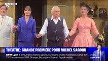 Une grand première pour Michel Sardou au théâtre