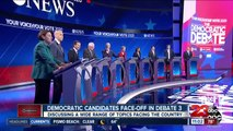 Democratic candidates face-off in third debate