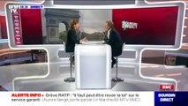"""Grève RATP: la députée LaRem Aurore Bergé estime qu'il """"faut peut-être revoir la loi"""""""