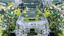 Production de la Porsche Taycan 100% électrique pour concurrencer Tesla