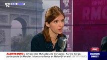 """Aurore Bergé: """"Pour moi, il n'y a pas de GPA qui puisse être éthique"""""""