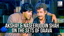 Akshay Kumar & Naseeruddin Shah's Interview For Daava | Flashback Interview