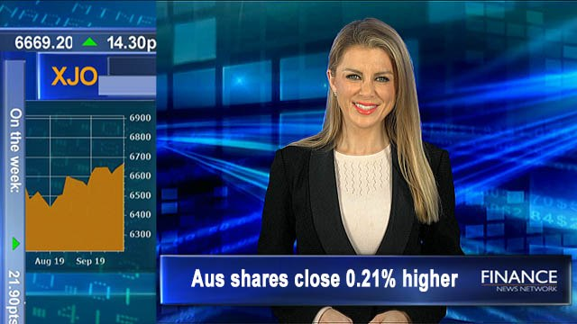 ASX gains for 4th week, Financials rise 2.7% this week: Aus shares gain 0.2% Friday, 0.3% on week