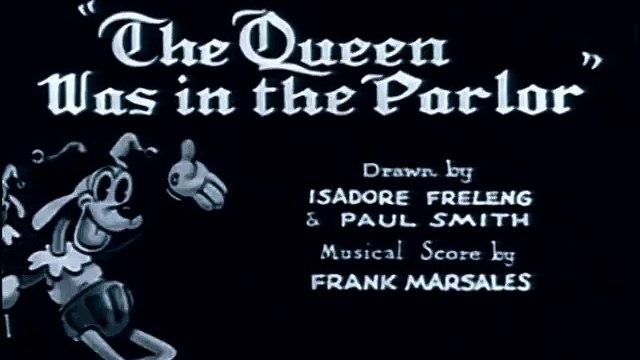 Bosko, The Queen Was in the Parlor Original Version, 1932