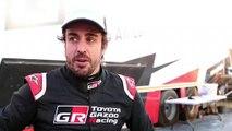 Entrevista a Fernando Alonso en Sudáfrica antes de su primer rally raid