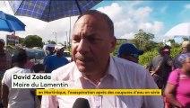La Martinique touchée par des coupures d'eau en série