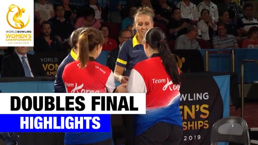Doubles Final Highlights - World Bowling Women's Championships 2019
