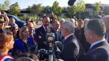 Le Premier ministre Édouard Philippe en déplacement dans la Drôme