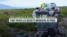 Pour favoriser le recyclage, certaines communes font payer les déchets ménagers au poids