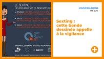 Sexting : cette bande dessinée appelle à la vigilance