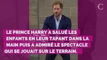 PHOTOS. Un papa affectueux : le prince Harry s'offre une séance câlin en marge d'un match de rugby