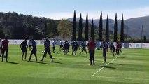 OM : Sarr absent, 24 joueurs dont 3 gardiens ont participé à l'entraînement matinal
