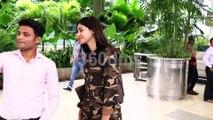 Bollywood Actress Ananya Pandey Spotted At Mumbai Airport Return From Chandigarh