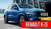 Renault KE-ZE, el coche eléctrico barato de Renault