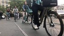 Faute de métros ou de RER, de nombreux Parisiens optent pour le deux-roues ce vendredi