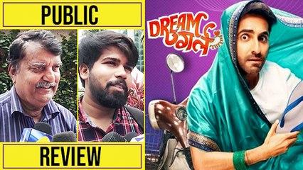 Dream Girl Public Review | Ayushmann Khurrana | Nushrat Bharucha
