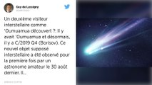 Une comète interstellaire venue de loin intrigue les scientifiques