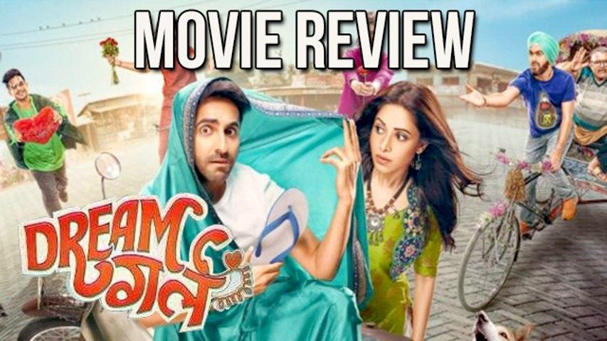 Dream Girl Movie Review  Ayushmann Khurrana  Nushrat Bharucha