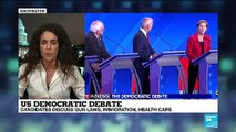 Gun laws, immigration and healthcare in focus at latest Democratic Primary debate