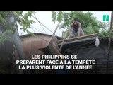 Les philippins se préparent à l'arrivée du super typhon Mangkhut