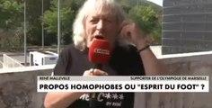 Ce supporter de l'OM y va trop fort en parlant de l'homophobie dans le foot