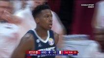 Ntilikina ouvre le score pour le France