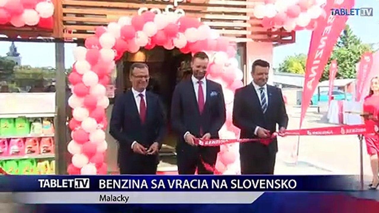 Čerpacie stanice Benzina sa vrátili po 15 rokoch na slovenský trh
