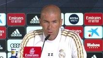"""Real - Zidane : """"Il faut agir sur le terrain"""""""