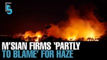 EVENING 5: M'sian firms named in haze row