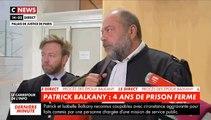 """Patrick Balkany condamné à 4 ans de prison ferme - Son avocat Eric Dupond-Moretti en colère: """"On s'est payé Balkany aujourd'hui"""""""