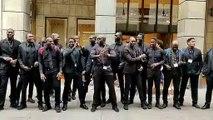 Grève des travailleurs sénégalais de milan
