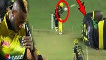 Andre Russell injured with bouncer | மின்னல் வேக பவுன்சர்! கீழே சரிந்த ரஸ்ஸல்