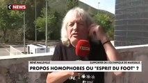 Un supporter de l'OM s'enflamme un peu trop à la télévision au sujet de l'homophobie dans le foot