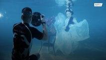 هل جربتم التصوير تحت الماء من قبل !!!