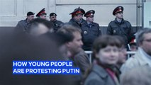 3 ways young people are protesting Putin's regime