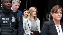Actress Felicity Huffman Faces The Court For Sentencing