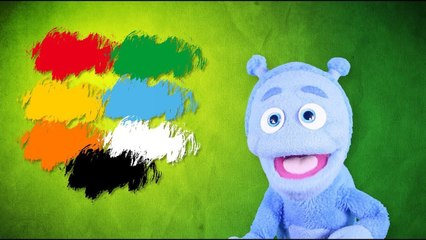 Colors for children! Discover colors with UBU the ALIEN!