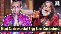Take A Look At Bigg Boss House' Most Controversial Contestants