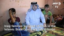 Evicted from camps, rejected at home: the Iraqi displaced no one wants