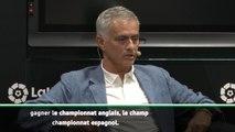 """Mourinho - """"Je voulais être le premier à gagner les championnats anglais, italien et espagnol"""""""